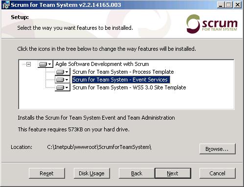 SfTS installation