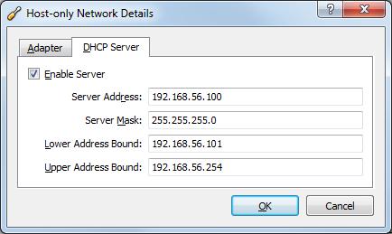 Virtual Network DHCP server