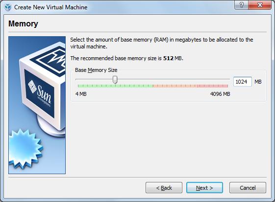 VBox -  Memory