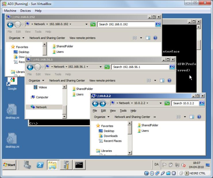 3 IP's - same server