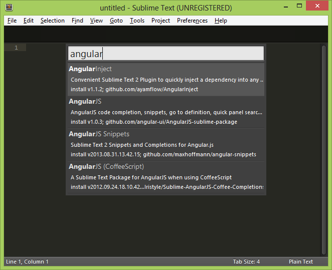 AngularJs plugins