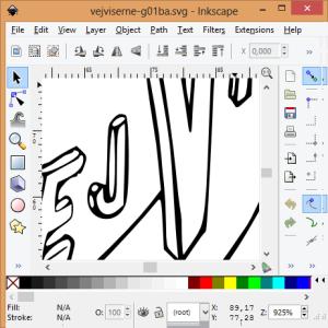 Smooth SVG output